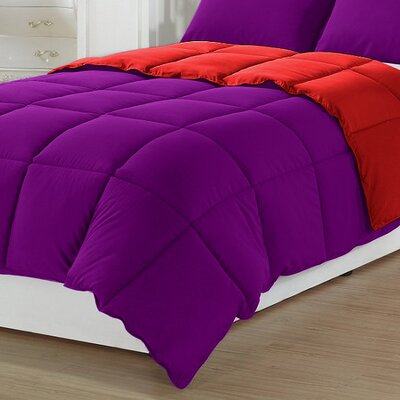 3 Piece All Season Down Alternative Comforter Size: Queen