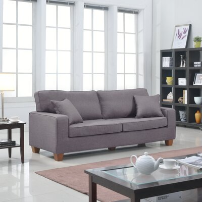 Modern Sofa Upholstery: Light Grey