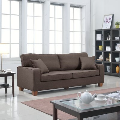 Modern Sofa Upholstery: Brown