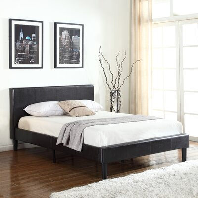 Twin Upholstered Platform Bed