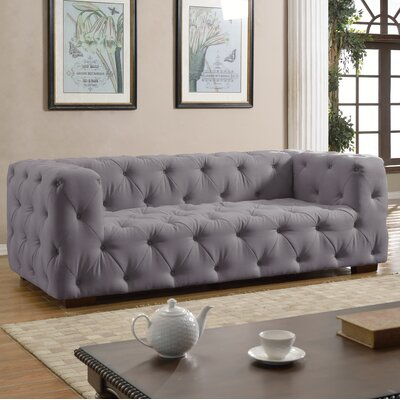 EXP42-LGR MHUS1073 Madison Home USA Tufted Large Sofa