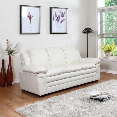Sofa Upholstery: White