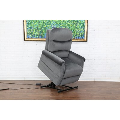 Classic Plush Power Large 3 Position Lift Chair Color: Blue