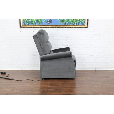 Classic Power Lift Assist Recliner Color: Blue