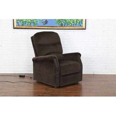 Classic Plush Power Large 3 Position Lift Chair Color: Brown