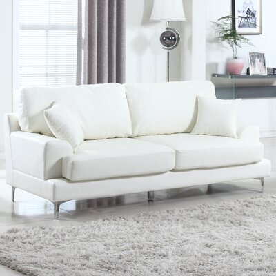 Ultra Plush Sofa Upholstery: Off-White