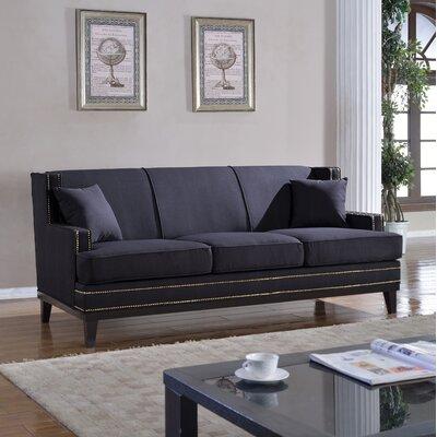 Modern Sofa Upholstery: Dark Gray