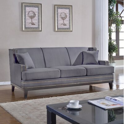 Modern Sofa Upholstery: Light Gray