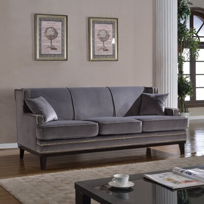 Modern Sofa Upholstery Color: Gray