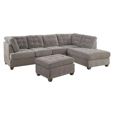 Madison Home USA 2PC-SEC-GREY Sectional
