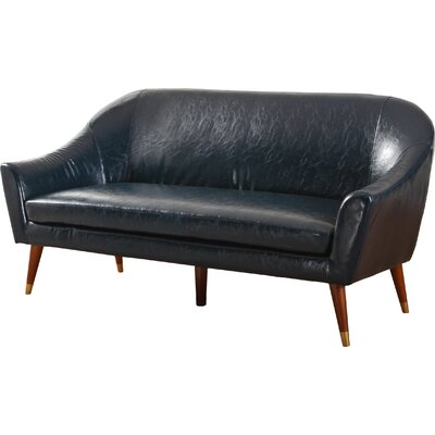 Elvie Sofa Upholstery: Dark Blue