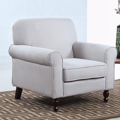 Living Room Armchair Upholstery: Beige