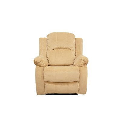 Manual Recliner Finish: Hazelnut
