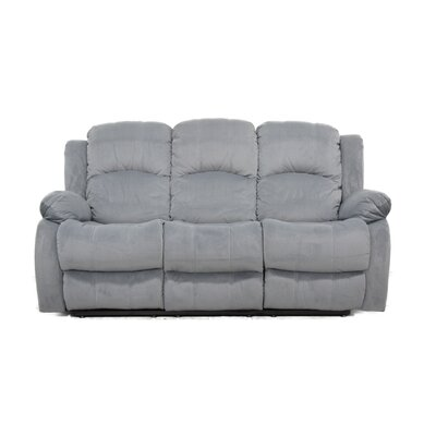 Reclining Sofa Finish: Gray
