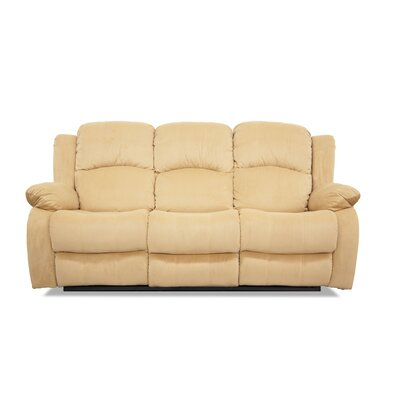 Reclining Sofa Finish: Hazelnut