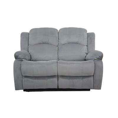 Reclining Loveseat Finish: Gray