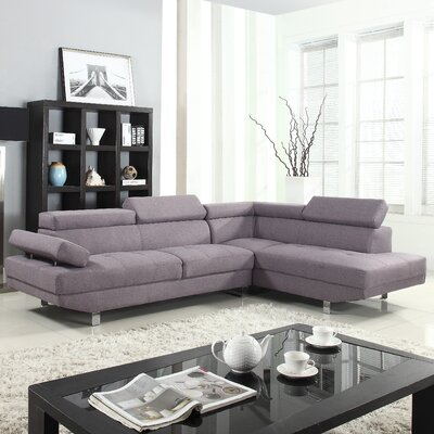 Reclining Sectional Upholstery: Dark Gray