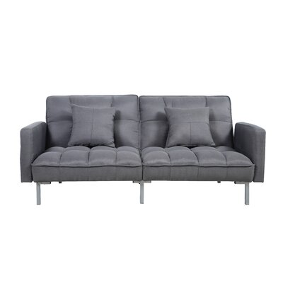 Convertible Sofa Finish: Dark Gray