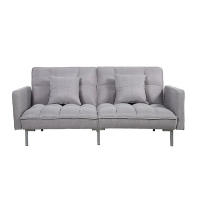 Convertible Sofa Finish: Light Gray