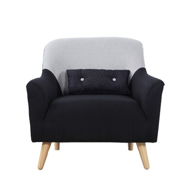 Armchair Upholstery: Dark Gray
