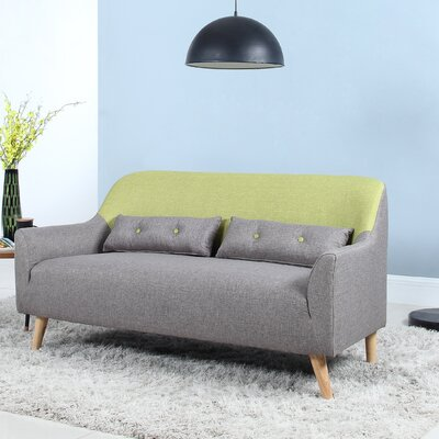 Loveseat Finish: Green