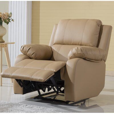 Henry Oversize Recliner Color: Hazelnut