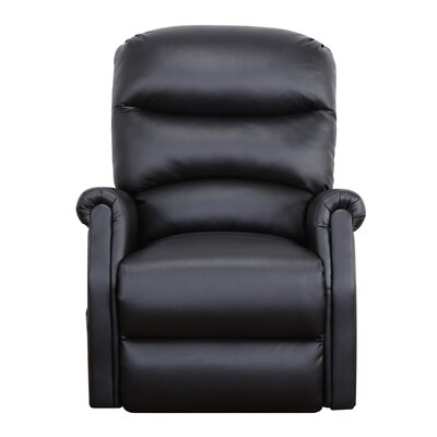 Classic Infinite Position Lift Chair Color: Black