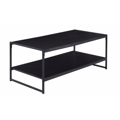 Rectangle Coffee Table Color: Black