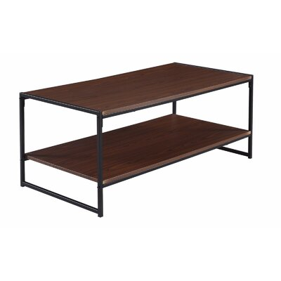 Rectangle Coffee Table Color: Brown