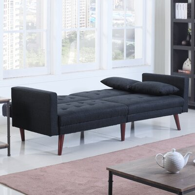 Convertible Sofa Upholstery: Midnight Blue