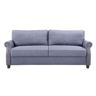 Sofa Upholstery: Blue