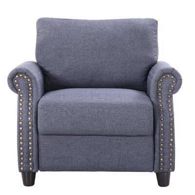 Armchair Upholstery: Blue