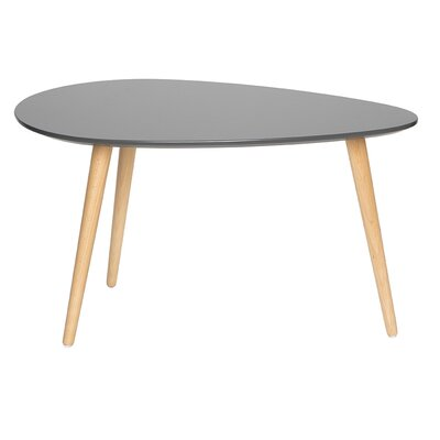 Mid Century Modern End Table Color: Gray