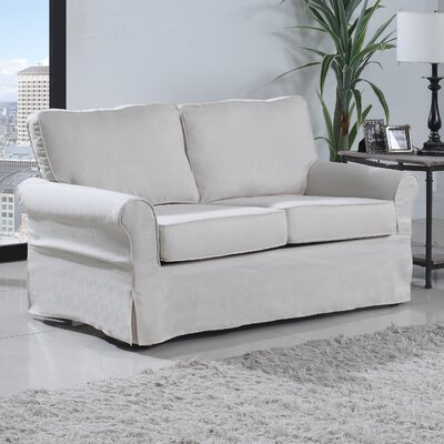 Classic Loveseat Upholstery: Beige