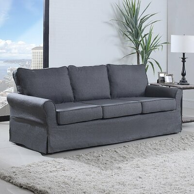 Classic Sofa Upholstery: Gray