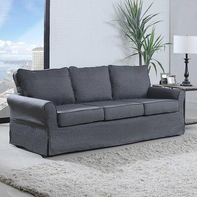 Classic Sofa Upholstery: Gray