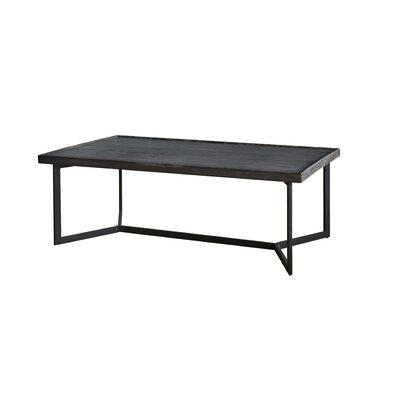 Modern Rustic Rectangular Coffee Table