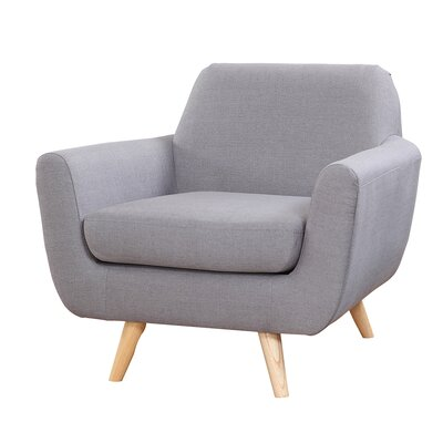 Armchair Upholstery: Light Gray