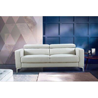 Dennis Modern Sofa Upholstery: Beige