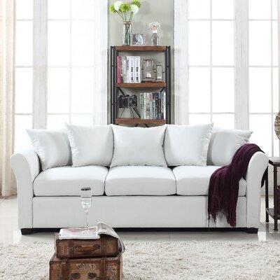 Harland Linen Sofa Upholstery: Beige