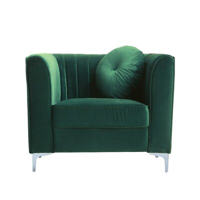 Armchair Upholstery: Green