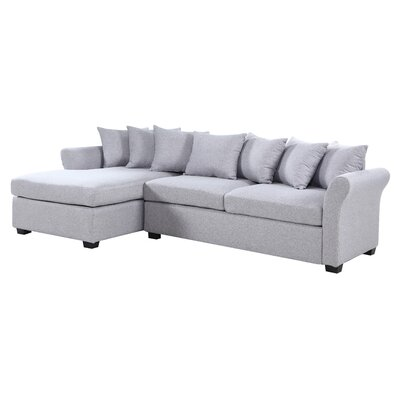Aeryn Sectional Upholstery : Gray