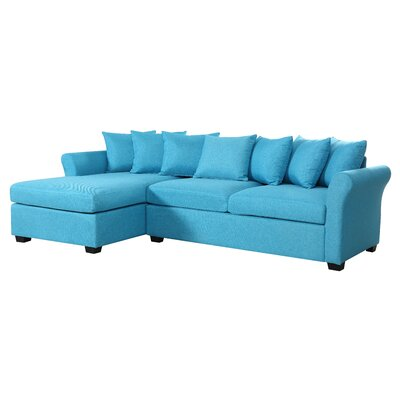 Aeryn Sectional Upholstery : Blue