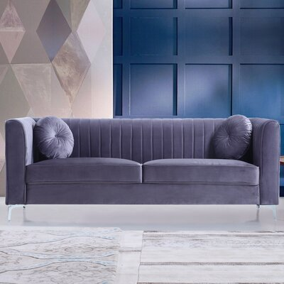 Sherill Sofa Upholstery: Gray