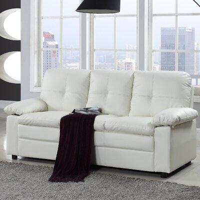 Austen Classic Sofa Upholstery: White