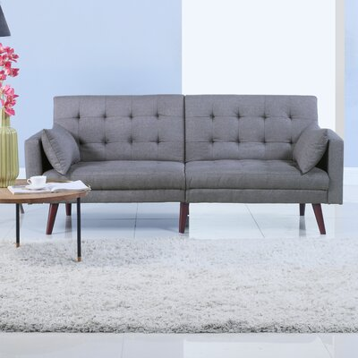 Convertible Sofa Upholstery: Light Gray