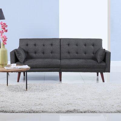 Convertible Sofa Upholstery: Gray