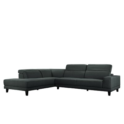 Walston Sectional Upholstery: Dark Gray