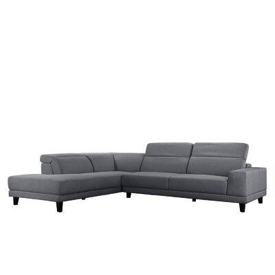 Walston Sectional Upholstery: Light Gray