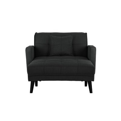 Walthall Chaise Lounge Upholstery: Dark Gray
